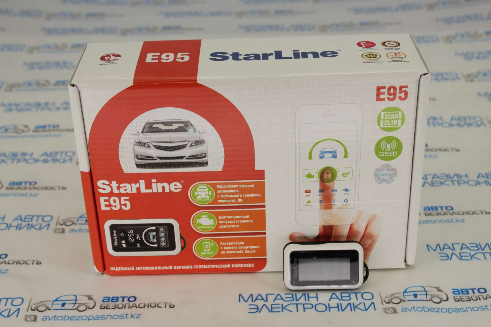 StarLine E95 BT 2CAN-LIN GSM